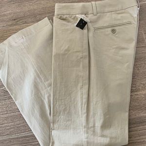 New Theory khaki cropped pants